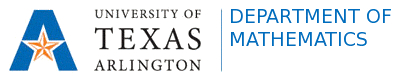 UTA Department of Mathematics